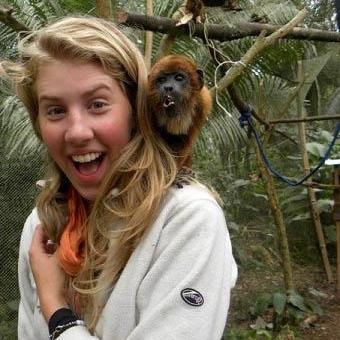 Caitlin K in Peru